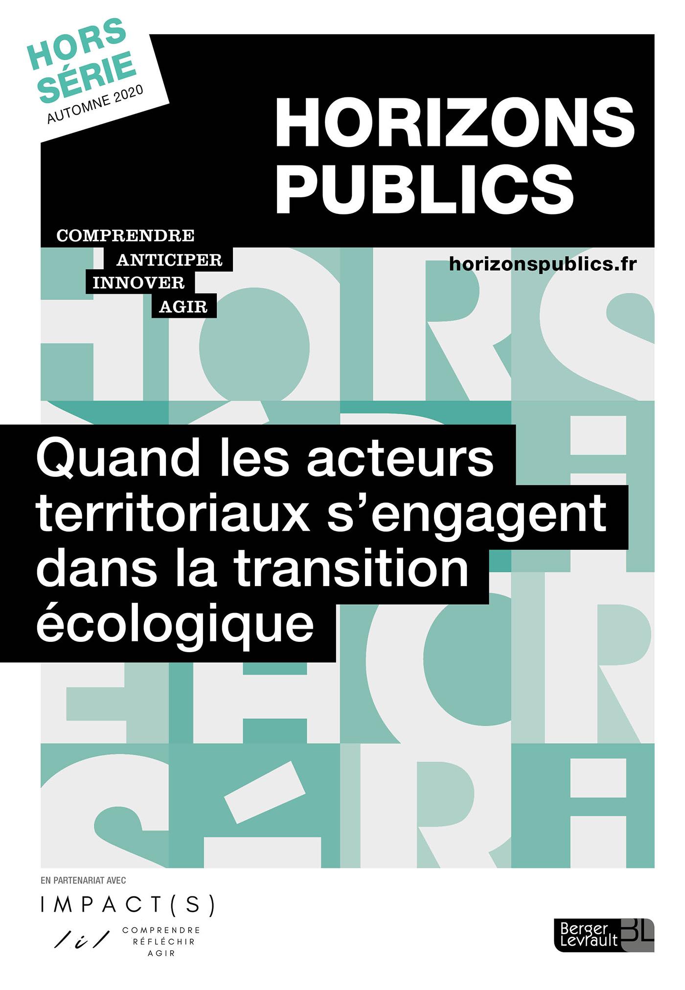 review_cover_Quand les acteurs territoriaux s'engagent dans la transition écologique