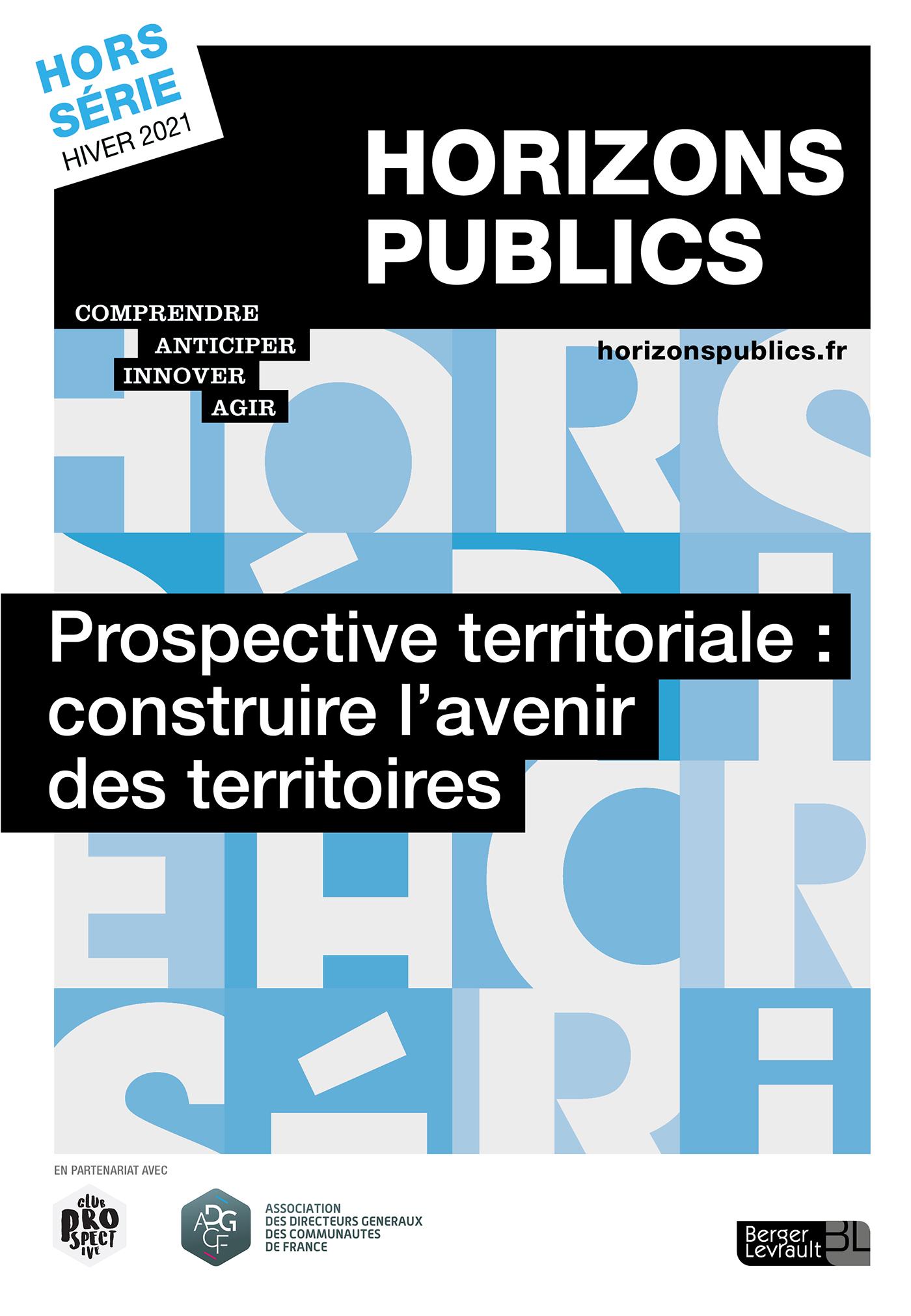 review_cover_Prospective territoriale : construire l'avenir des territoires