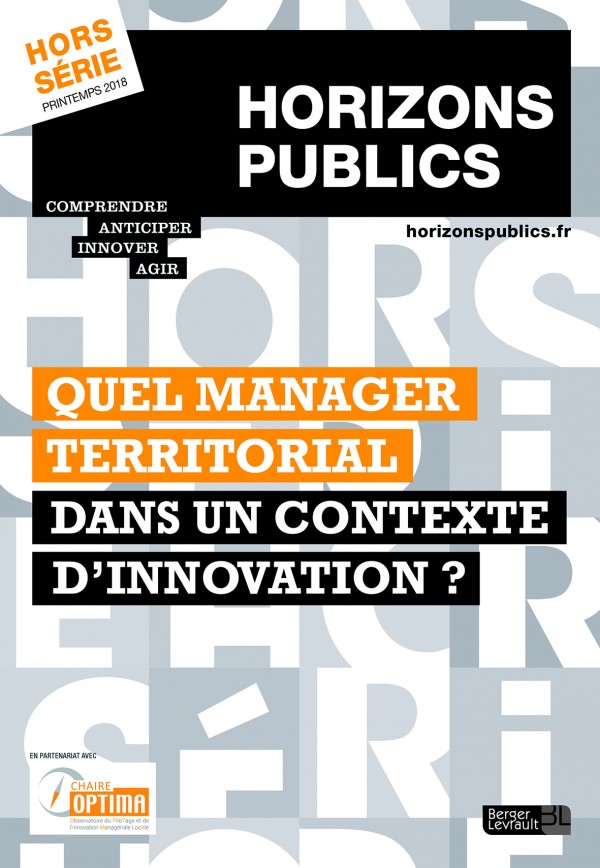 Quel manager territorial dans un contexte d'innovation ?